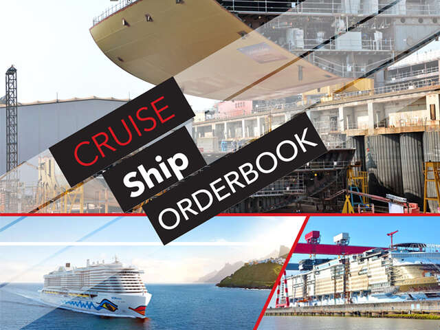 Wow look at this list of Cruise Ships On Order!