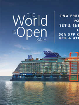 Two Free Perks on Celebrity Cruises!