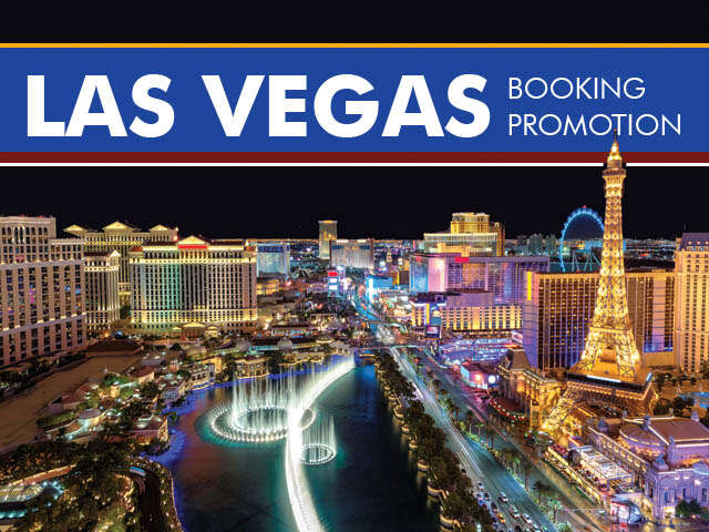 Las Vegas Booking Promotion