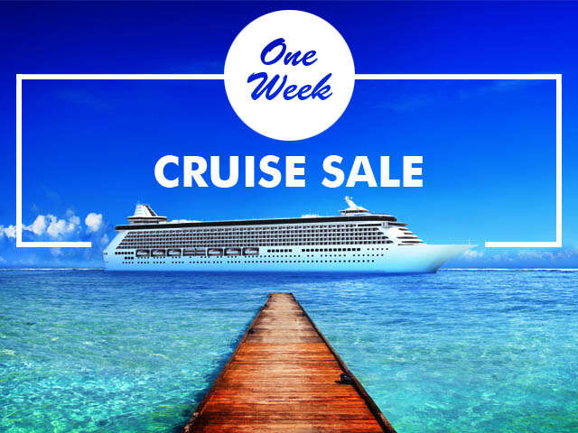 One Week Exclusive Cruise Sale