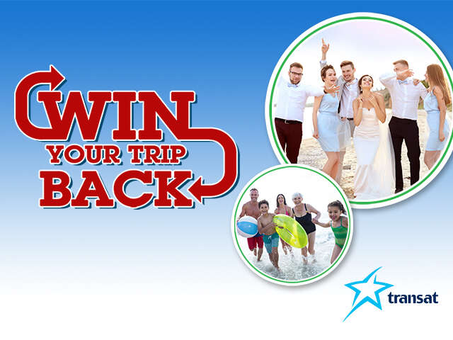 Win Your Trip Back when you Travel with a Group