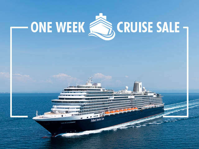 UNIGLOBE's Exclusive Cruise Sale with Holland America