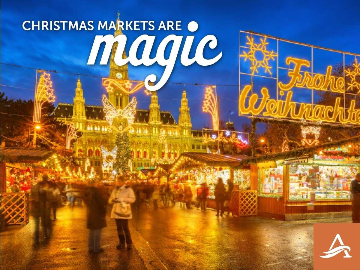 Festive Season on the Blue Danube-CHRISTMAS MARKETS RIVER CRUISE