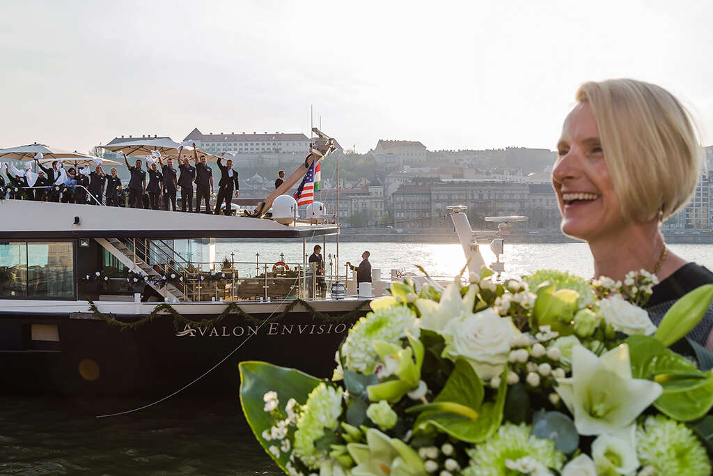 Best-Selling Author Elizabeth Gilbert Christens the new Avalon Envision
