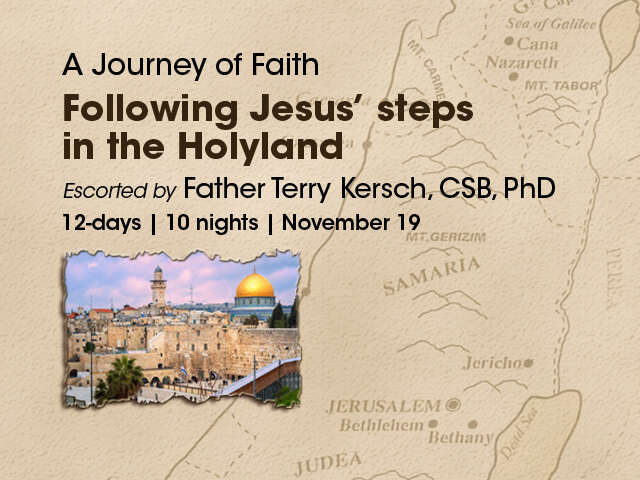 A Journey of Faith - Holyland 2019