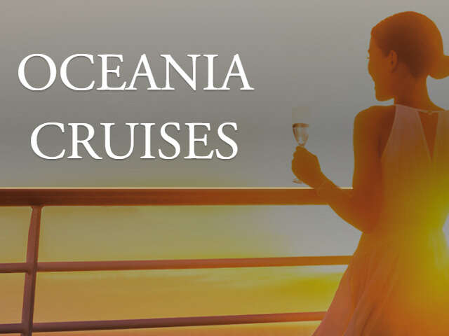 Oceania Cruises Canadian Resident Special