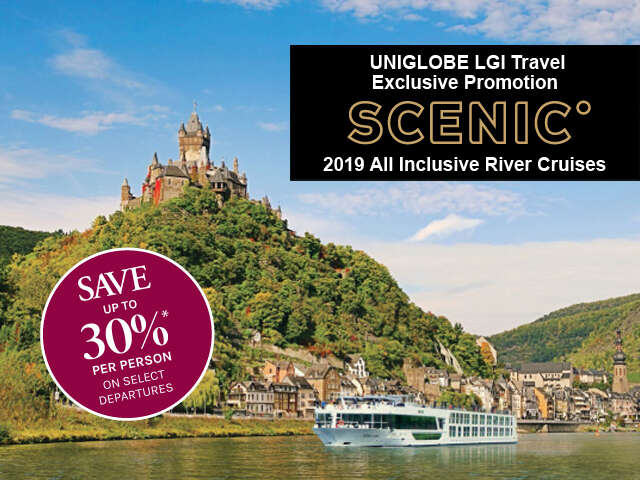 Scenic River Cruises - Save up to 30%