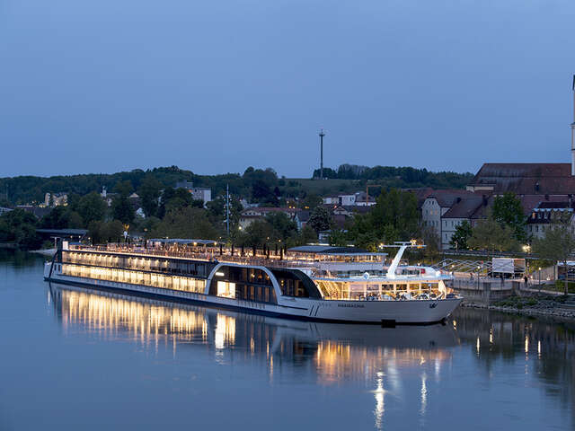AmaWaterways' Revolutionary Ship, AmaMagna, Welcomes First Guests on the Danube