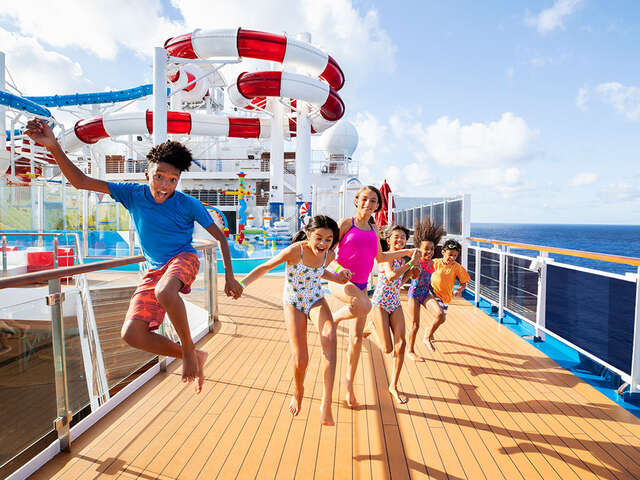 Carnival Cruise Line has FUN for Everyone!