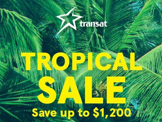 Transat Tropical Sale