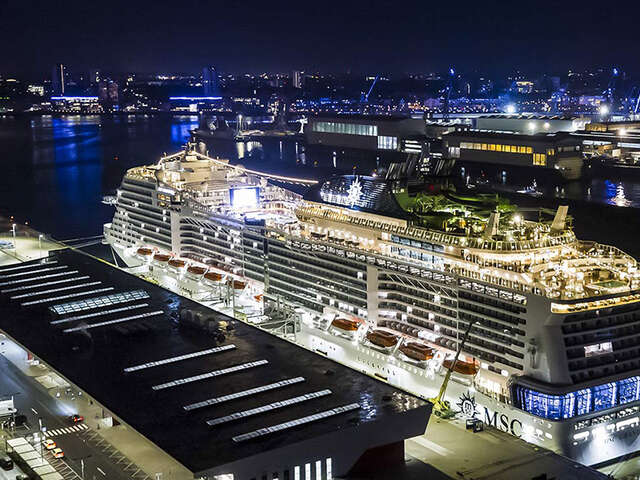 MSC Grandiosa Steps Into the Spotlight