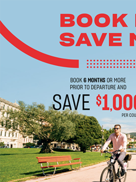 Air Canada Vacations: Book Europe Early and Save up to $1000