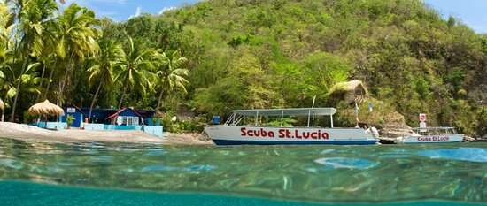 St Lucia Diving April 2020