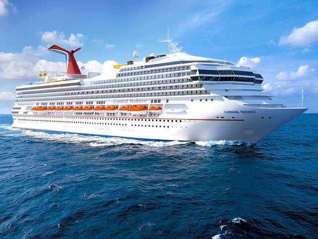 FIND YOUR MOST FUN SELF ON CARNIVAL RADIANCE!