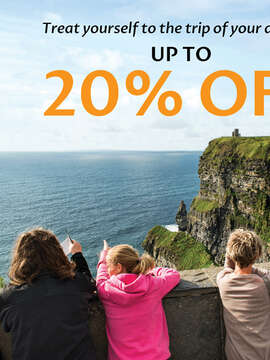 Save up to 20% on all CIE Tours! Hurry Deal ends Soon!