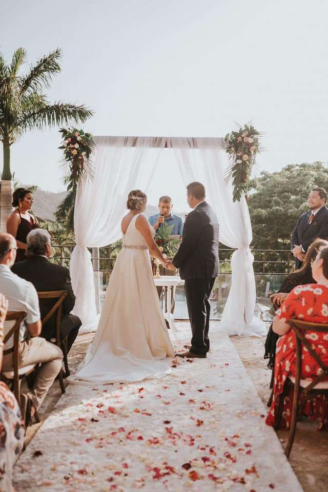 Destination Wedding at Dreams Las Mareas, Costa Rica