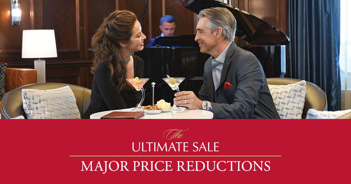 Oceania Cruises - The Ultimate Sale Major Price Reductions
