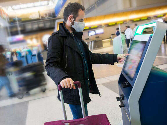 Forget to bring your mask to the airport? This federal program might save your day