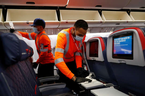 Delta doubles staffers handling cabin cleaning in 'pit stop' revamp