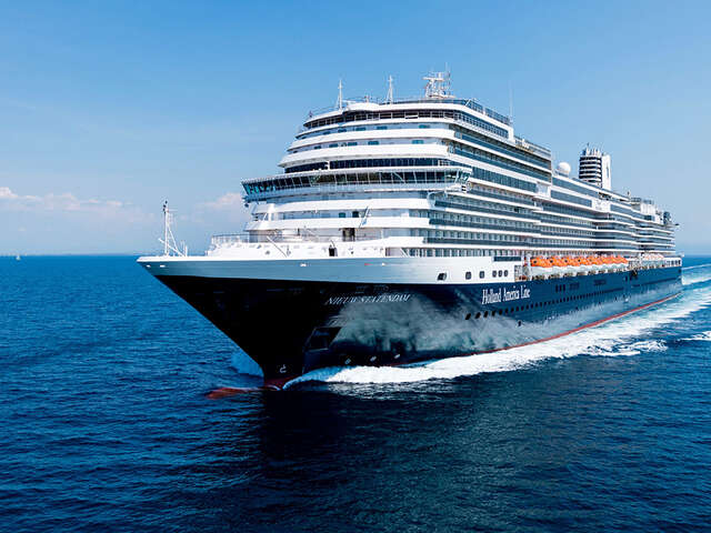 Holland America Line Extends 'Save Now, Cruise Later: Have It All' Promotion