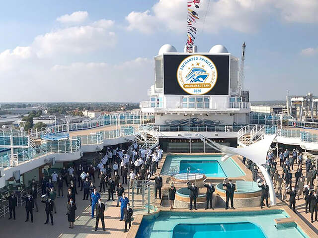 Enchanted Princess Officially Joins Princess Cruises Fleet