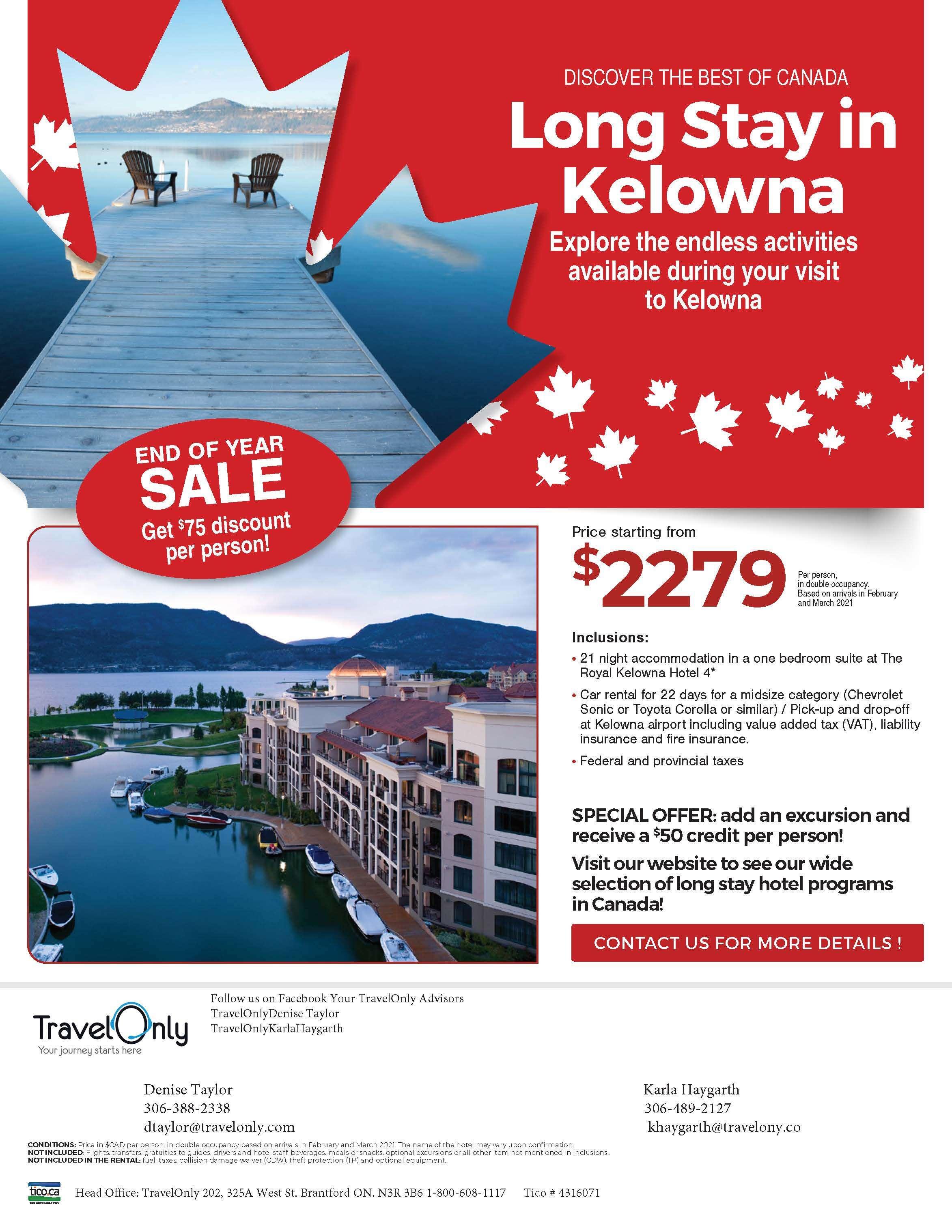Long Stay In Kelowna