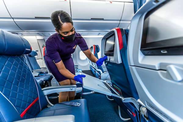 Delta earns hospital-grade 'Diamond' rating for cleanliness