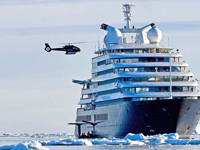 Scenic Eclipse Adds Complimentary Business Class Air to the Ultimate Antarctica Experience