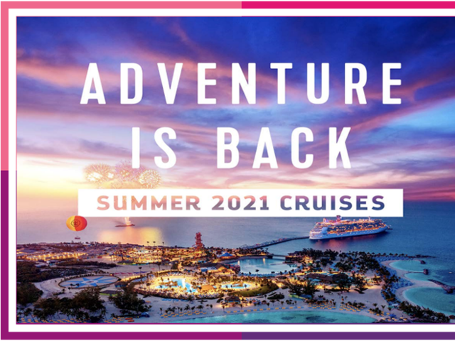 Adventure is Back with Royal Caribbean!