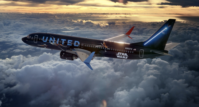 I got to fly on the United Airlines Star Wars plane – Here's what it's like inside