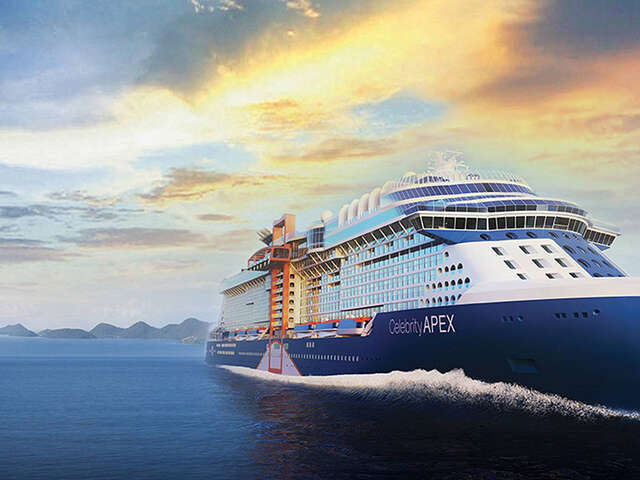Celebrity Apex Sets Sail in Greece