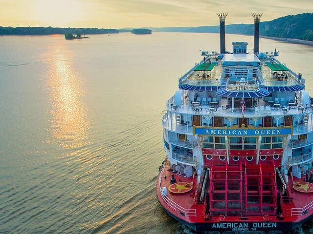 Flagship American Queen Resumes: Full American Queen Steamboat Company Fleet in Service