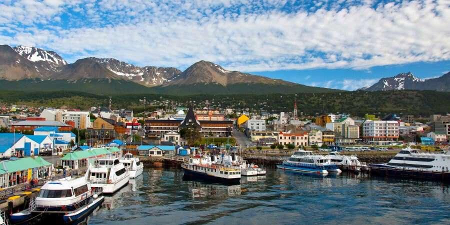 Tierra del Fuego - Buenos Aires/Ushuaia - Flight & Embarkation