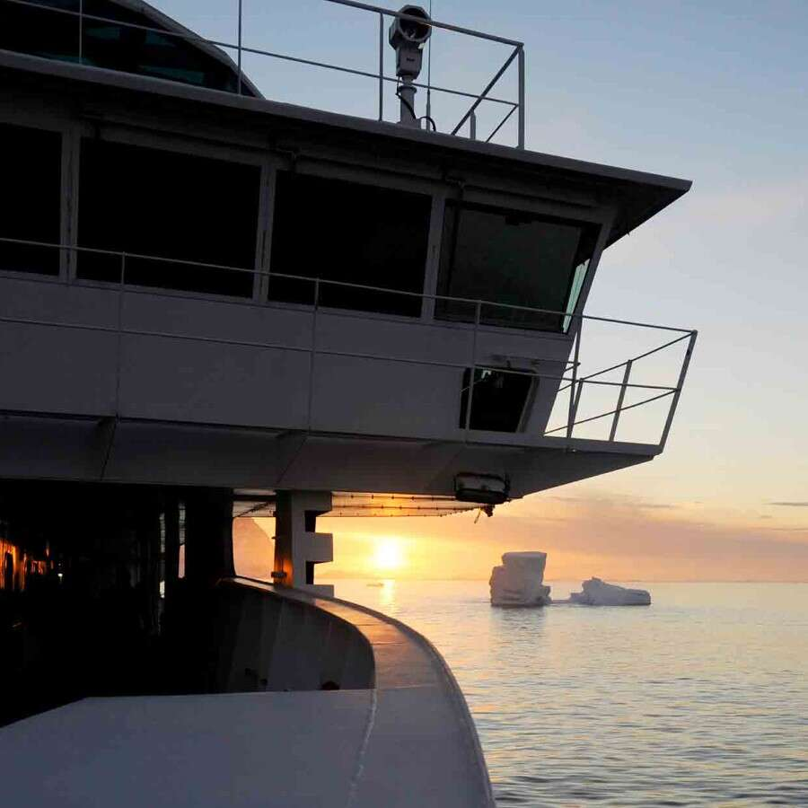 Navigating Cape Horn and the Drake Passage  - At Sea
