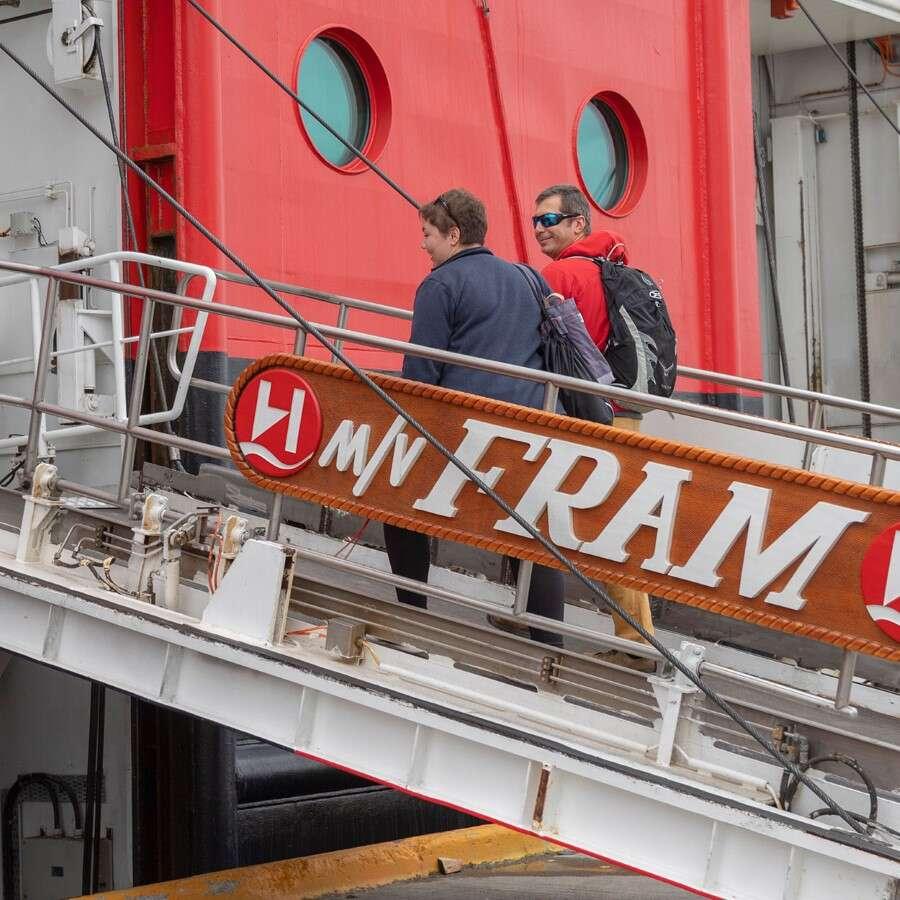 Setting off - Santiago de Chile/Punta Arenas