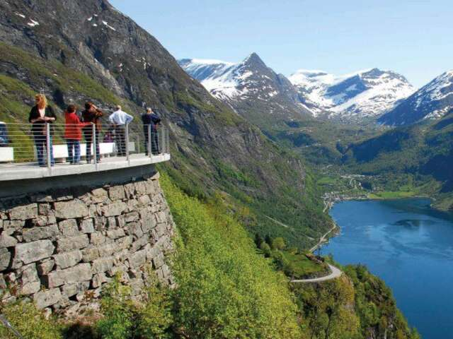 Exploring Norway's Fjords and the North Cape