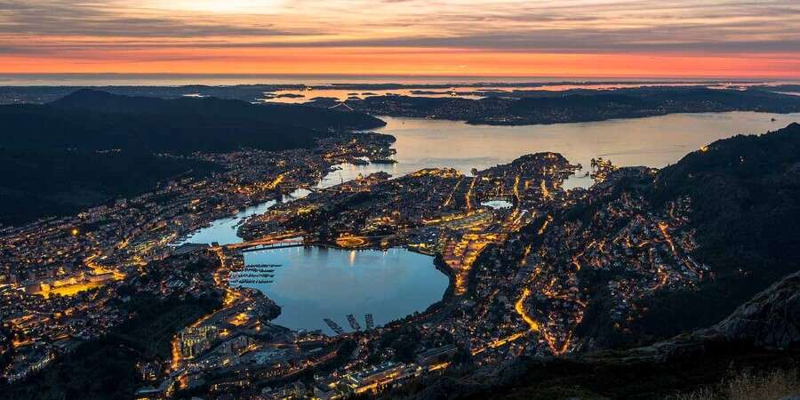 Beautiful Bergen - Bergen - Embarkation