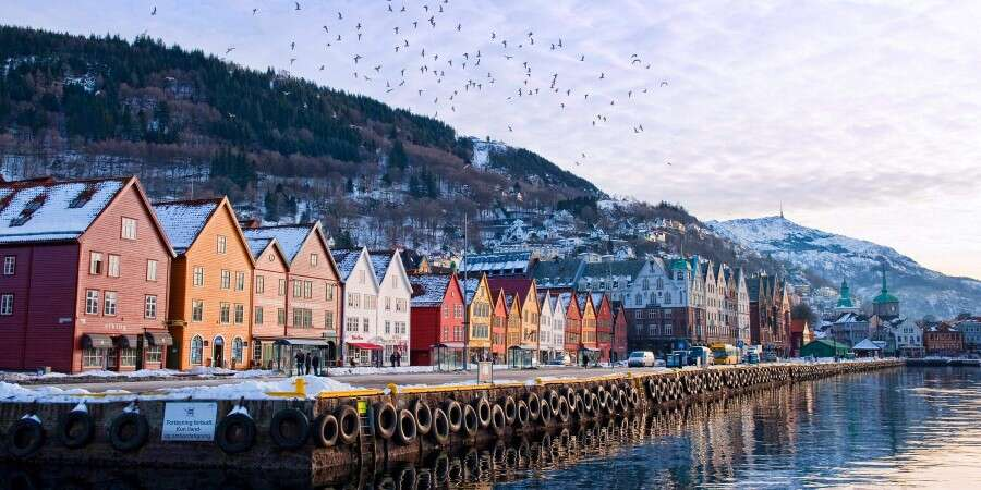 Looking Forward to the Next Adventure - Bergen