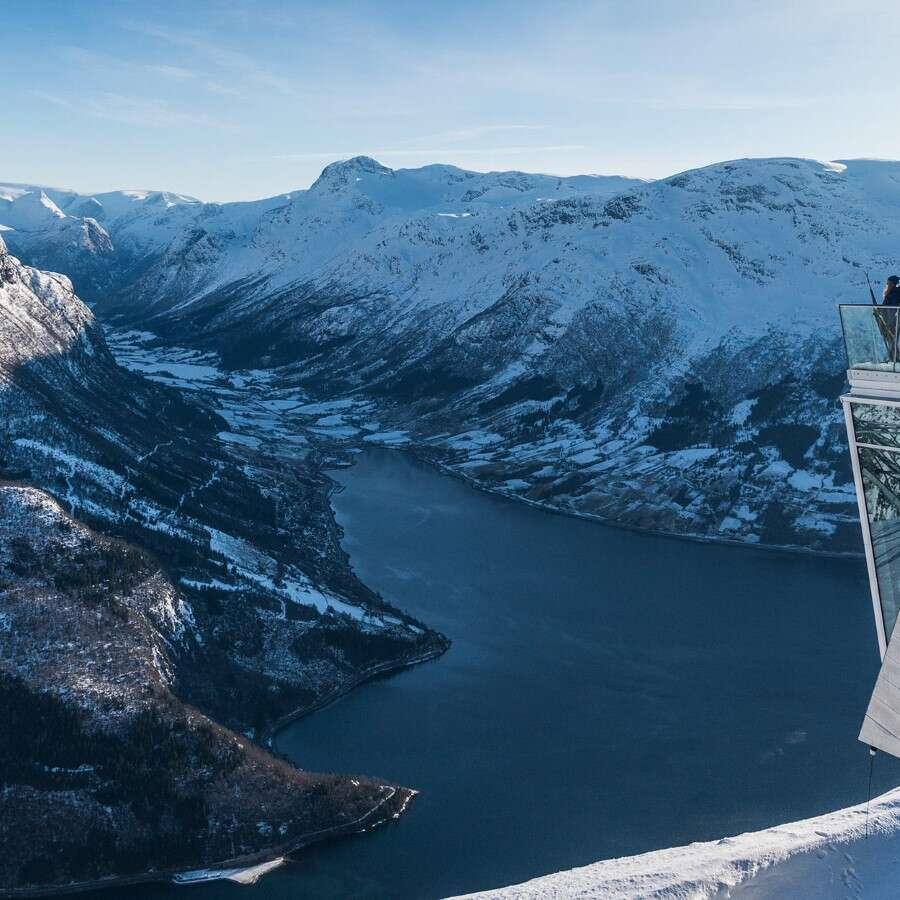 From the fjord to the mountaintop  - Outside Loen