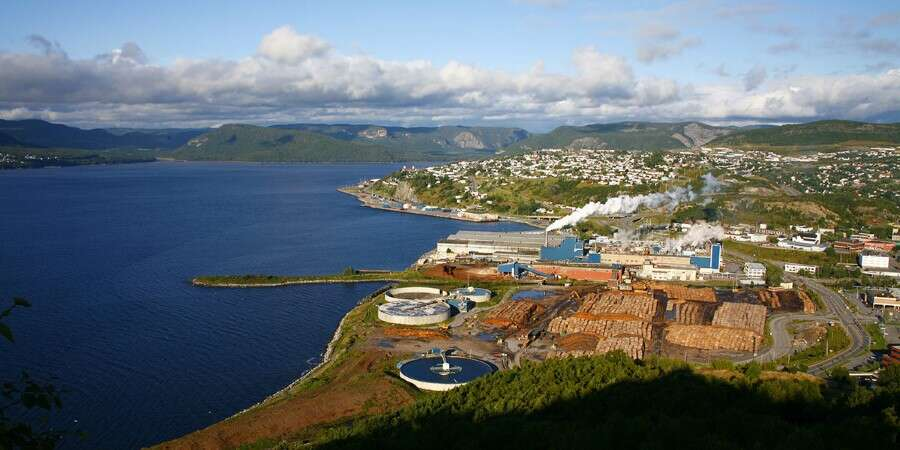 In the wake of Captain James Cook  - Corner Brook, Canada