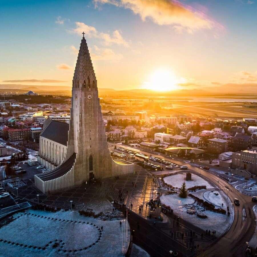 The world's northernmost capital - Reykjavík, Iceland