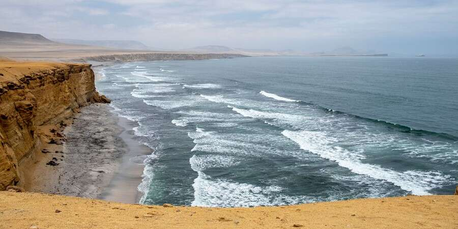 Mysterious Geoglyphs and Sea Lions  - Paracas, Peru