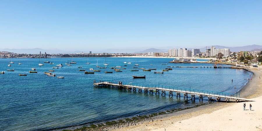 Beach Town with Historic Center - Coquimbo, Chile - Full Day