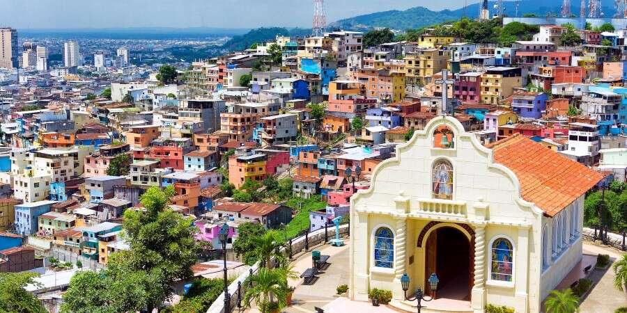 Ecuador's Coastal Metropolis - At Sea