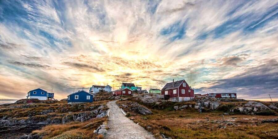A Typical Greenlandic Hunting and Fishing Community - Itilleq