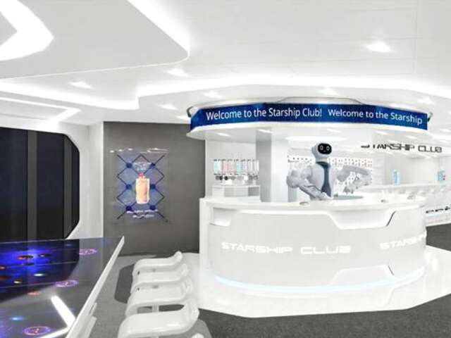 Drink a Cocktail Made by the World's 1st Human-like Robot Bartender at Sea