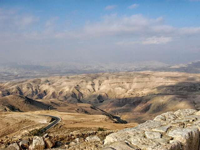Border Crossing - Madaba, Jordan - Mt. Nebo - Petra