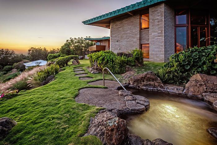 Frank Lloyd Wright Home 4.5 Star, Waimea, Hawaii view