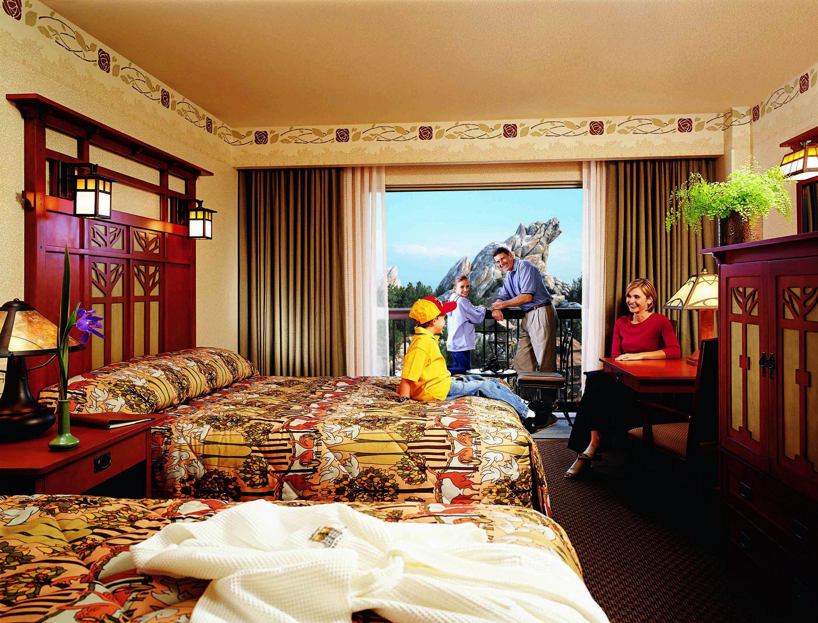 Disney Grand Californian Anaheim, United States bedroom