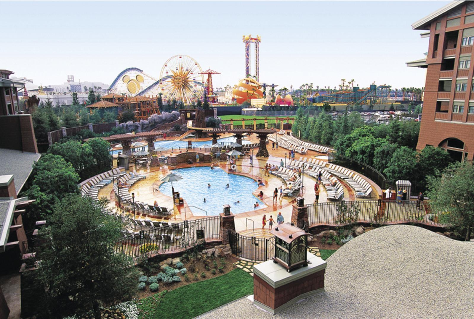 Disney Grand Californian Anaheim, United States pool